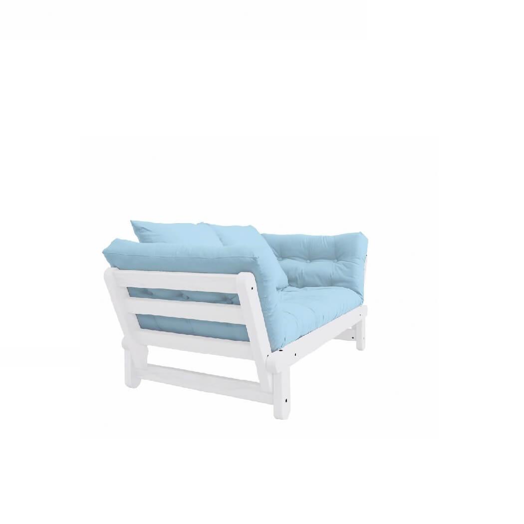 Eenpersoons Bedbank Ikea.Karup Slaapbank Beat Wit Stylish And Space Saving