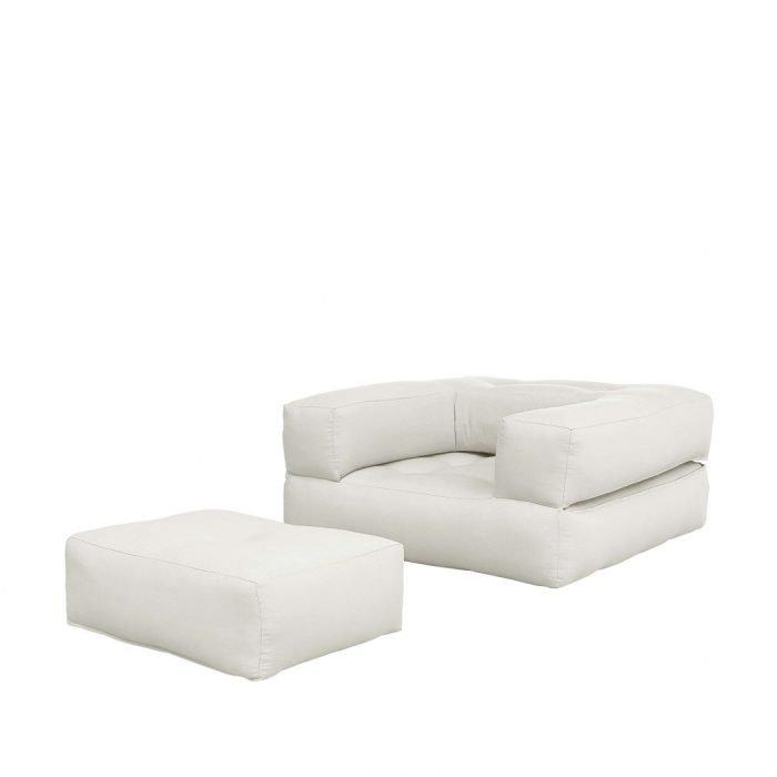 karup slaapfauteuil cube (