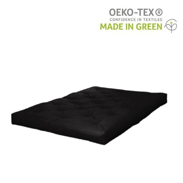 Karup futonmatras double latex zwart