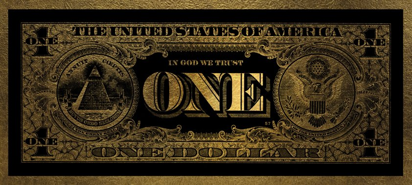 One dollar Gold