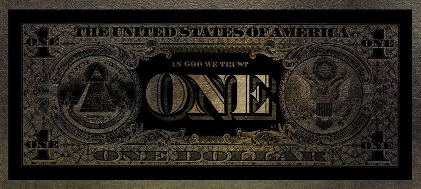 One Dollar parelmoer