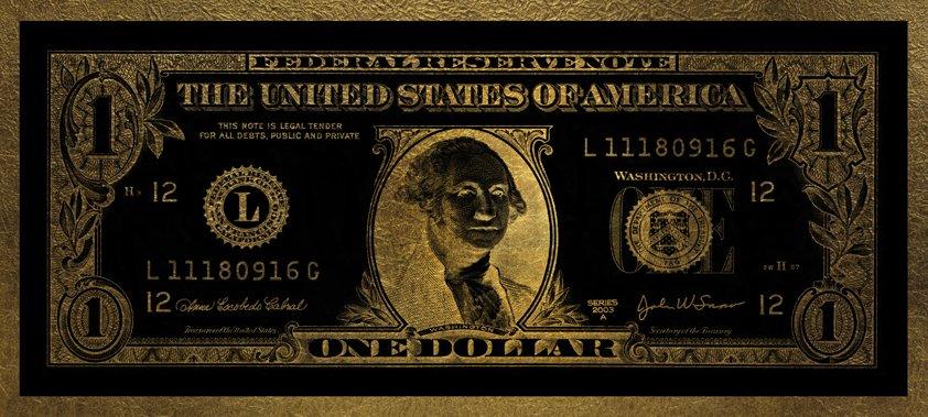 Dollar Washington Gold