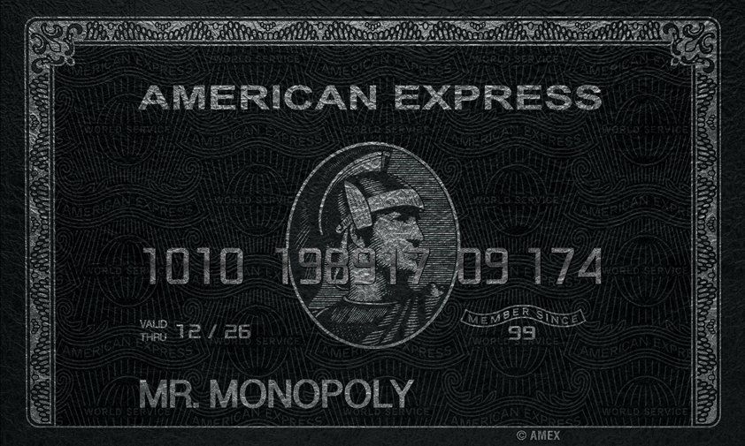 Silver AMEX with Monopoly, Specials Aluart