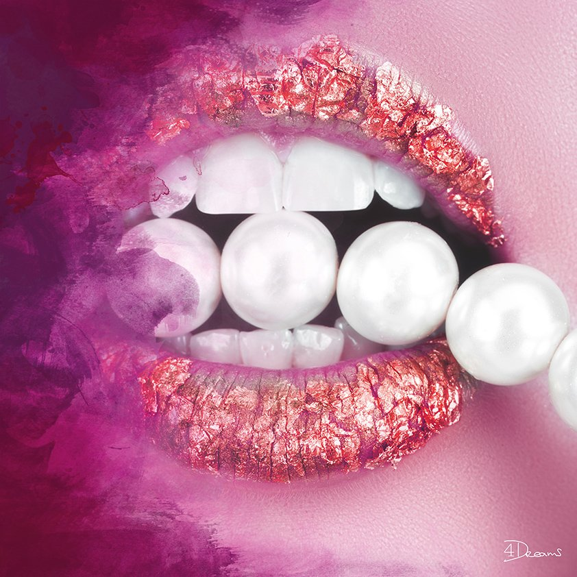 Pearls in pink Mouth Aluart