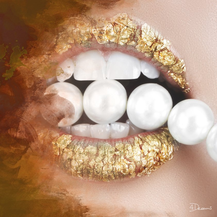 Pearls in Golden Mouth Aluart