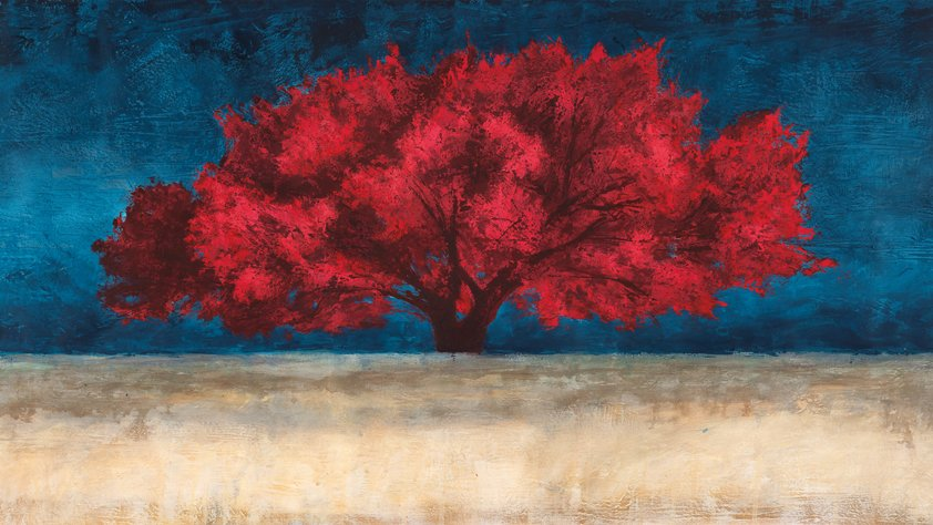 Red Tree Wainting for his Owner AluartMa
