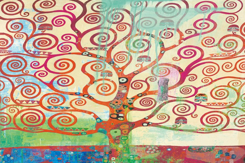 Colorful Tree in the World Aluart