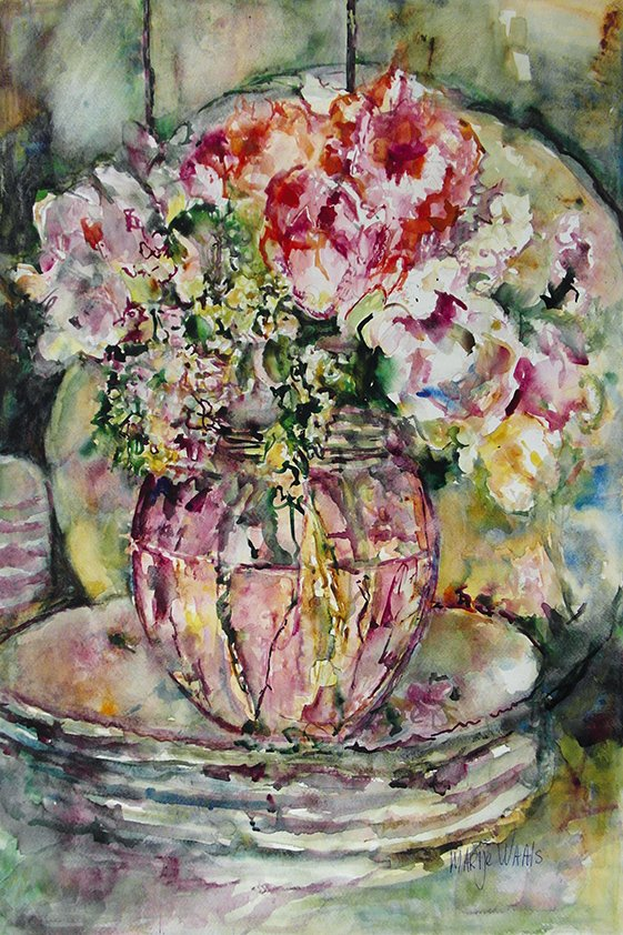 Abstract Flowers on the Table Aluart