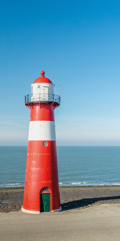 Lighthouse in The Netherlands Aluart