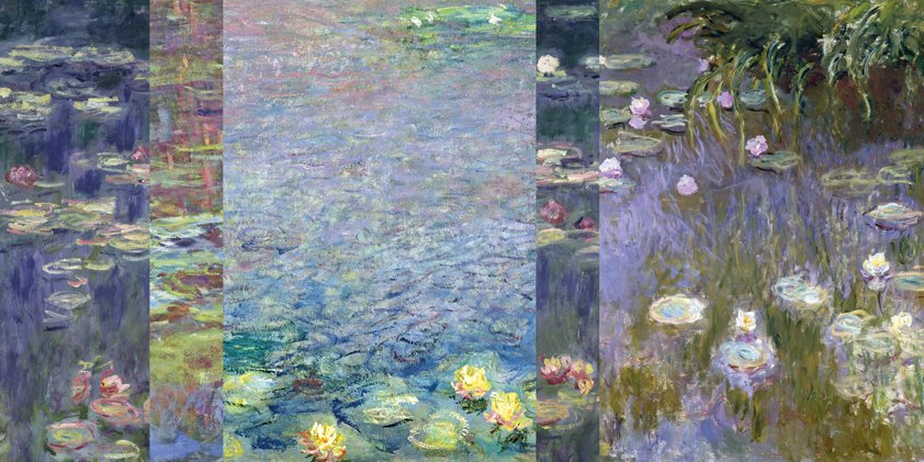 Ditch with Waterlilies Aluart