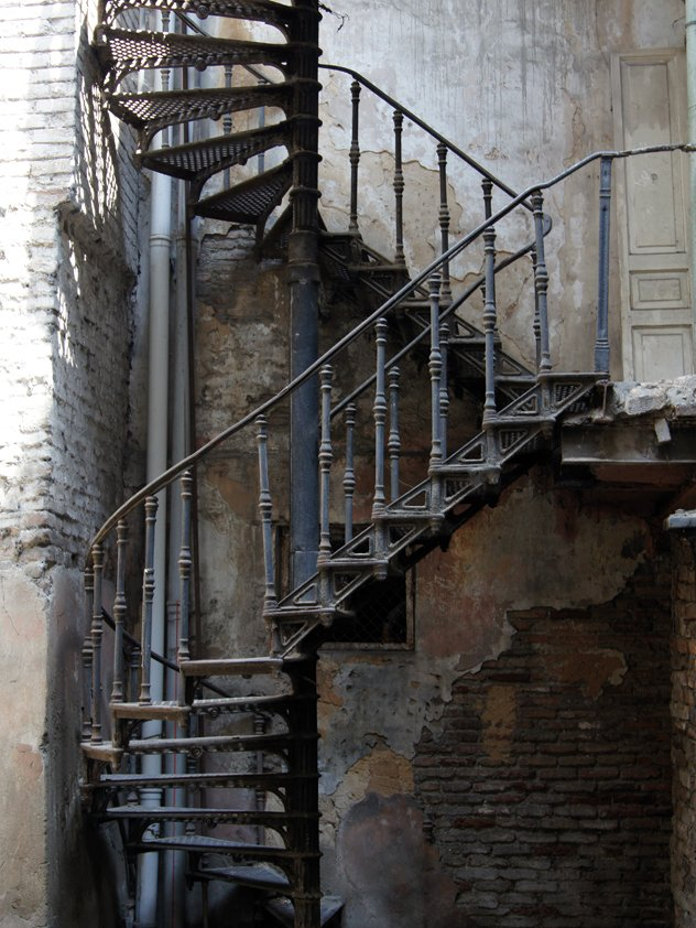 Classic Metal Stairs vertical Aluart