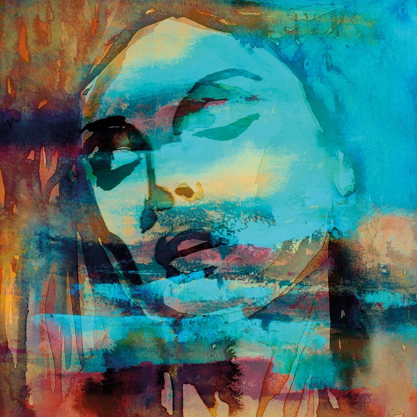 Abstract Woman in Autumn Color Aluart