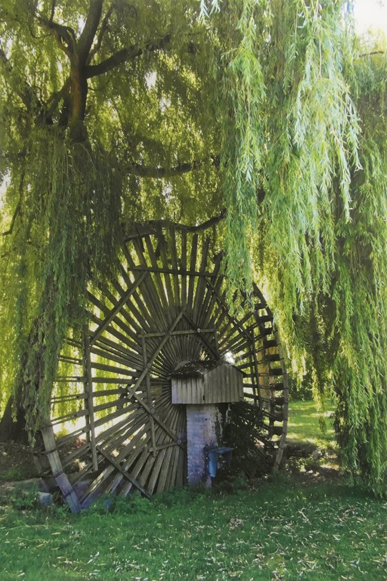 Classic Watermill with Tree Aluart