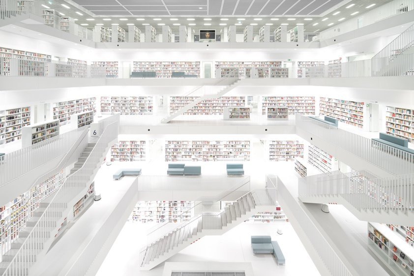 Crooijmans, White Library in Map Aluart