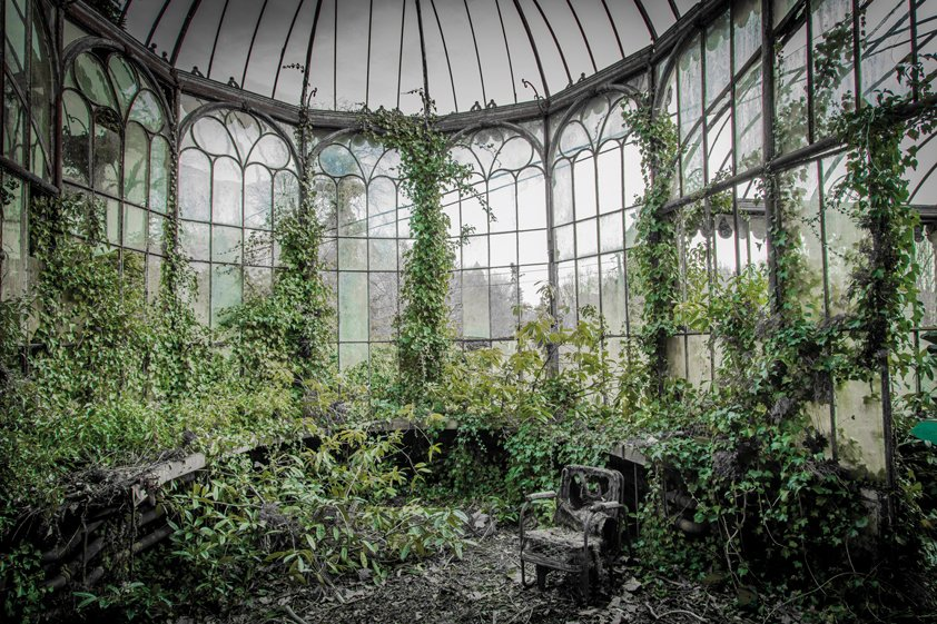 AluArt Logan, Abandoned place left in Nature