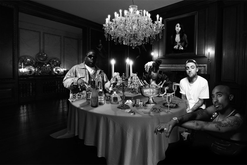 Rappers Reunion on Dinner table Aluart