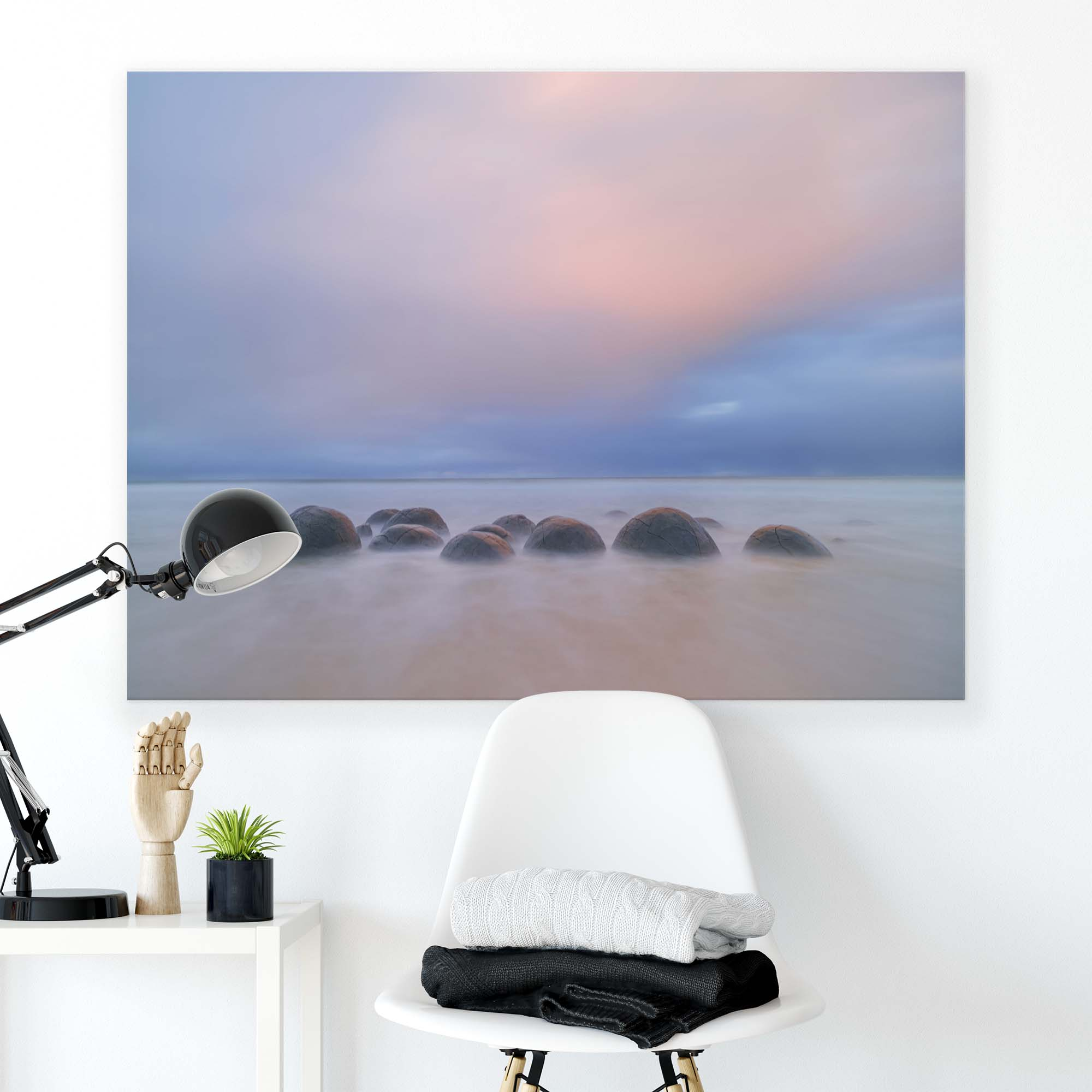 Canvas artwork Stones in The Water