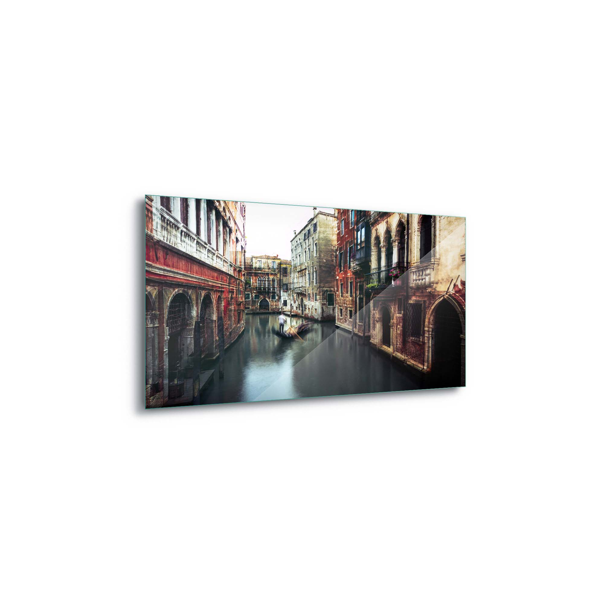 Glass printed Houses in Venice