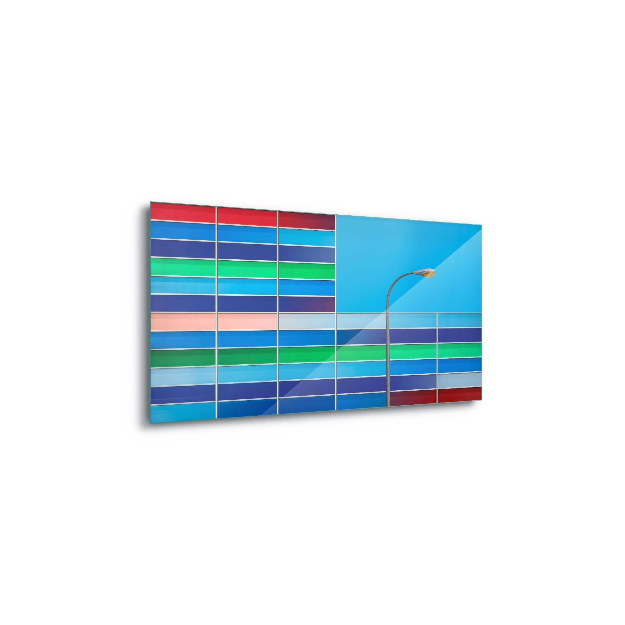 Glass printed Facade Colors