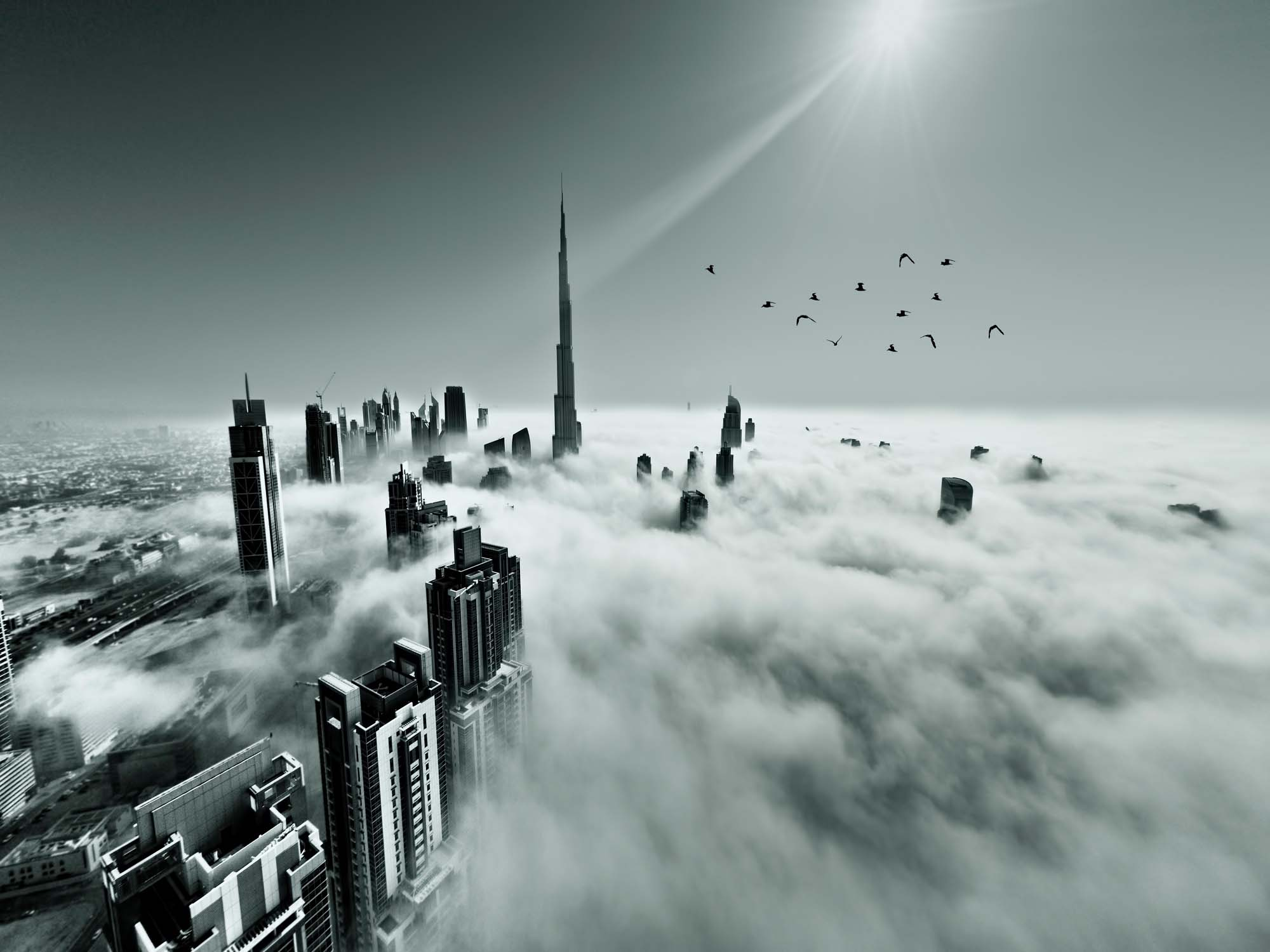 Up up and Above by Naufal