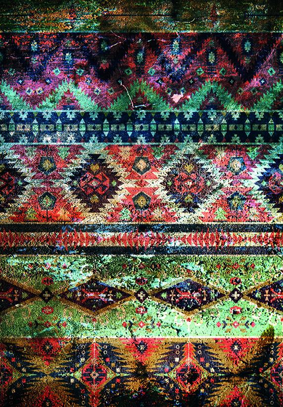 Design Tapijt In Colored Design