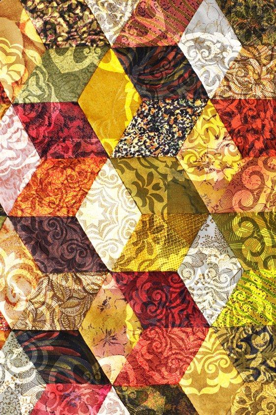 Design Tapijt Diamonds in Color