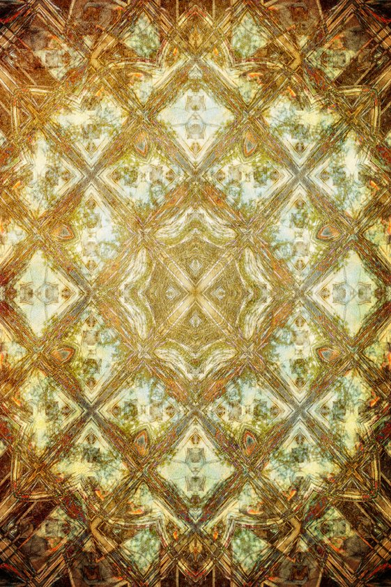 Design Tapijt Golden Patterns