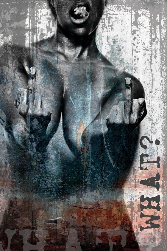 Design Tapijt Crazy Naked Woman