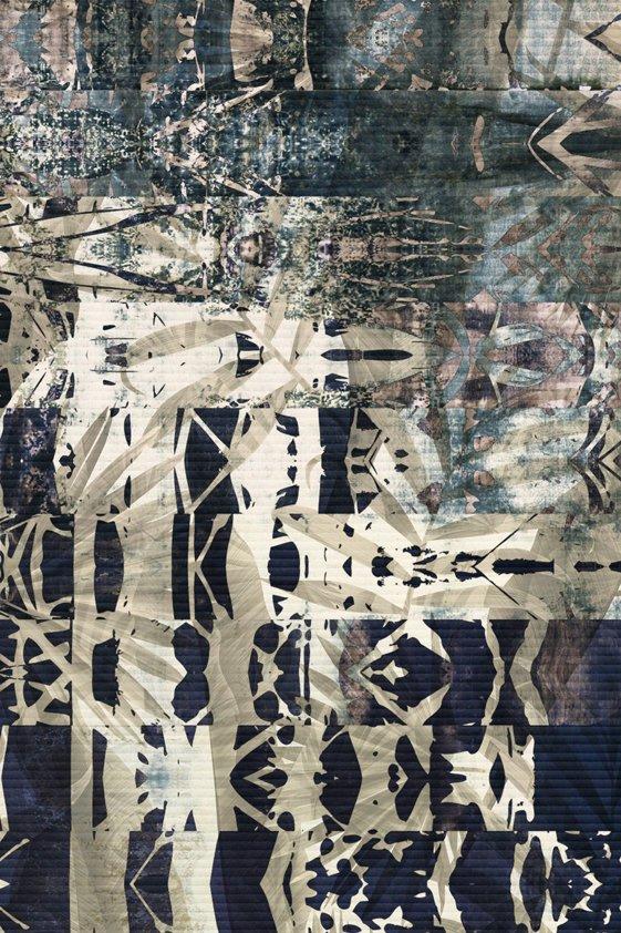 Design Tapijt Colored B/W Detail