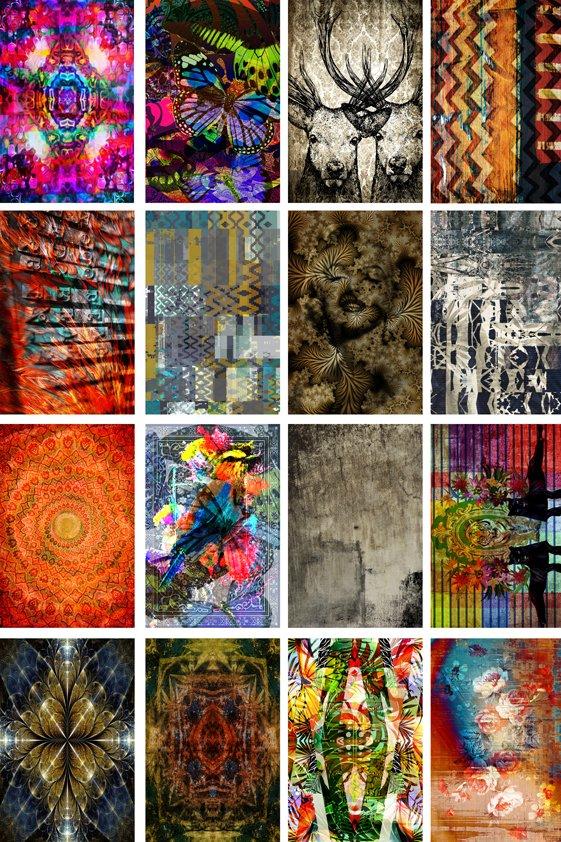Various Design Tapijt in one Picture