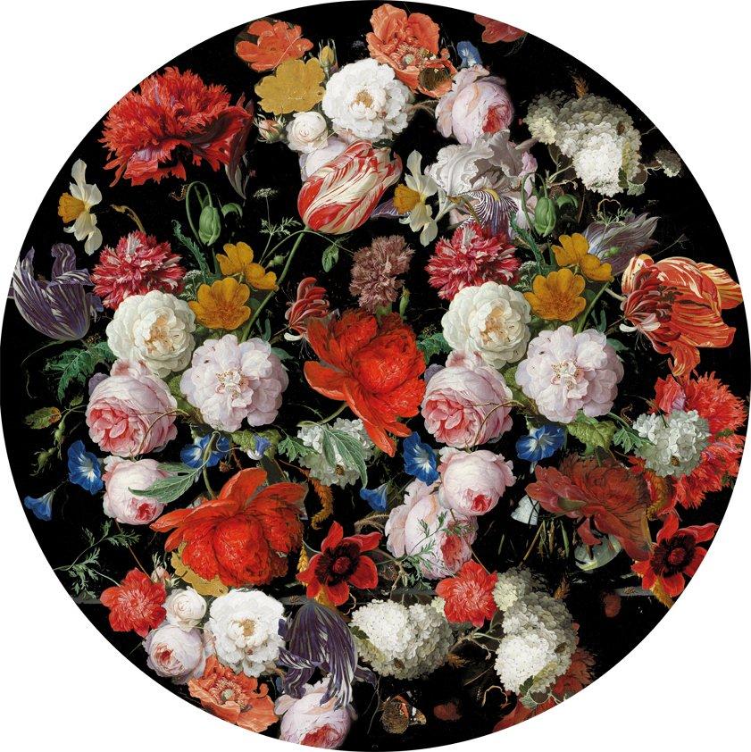Carpet Old flowers