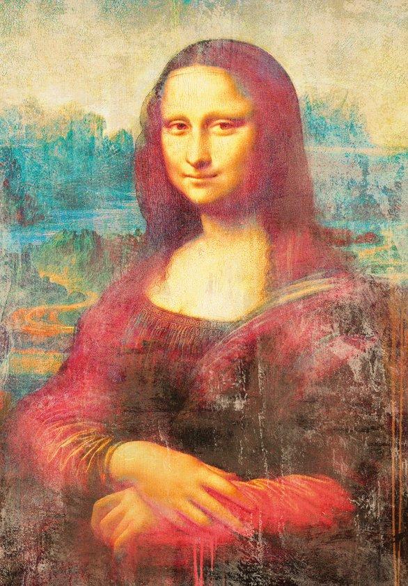 Design Tapijt Mona Lisa in Red
