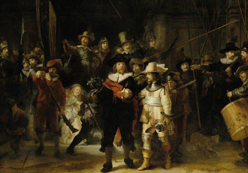 Design Tapijt The Nightwatch Rembrandt