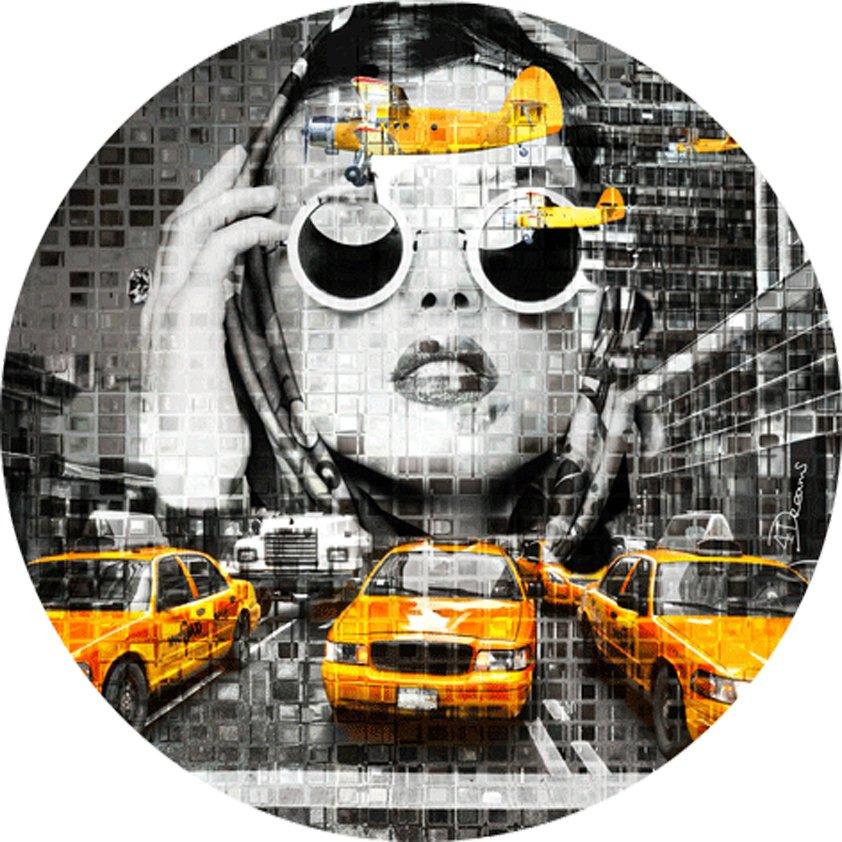 Carpet BAS Yellow Cab Face