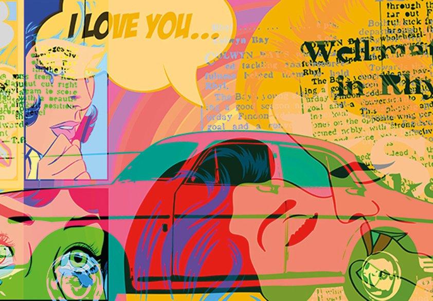 Design Tapijt I Love You ...