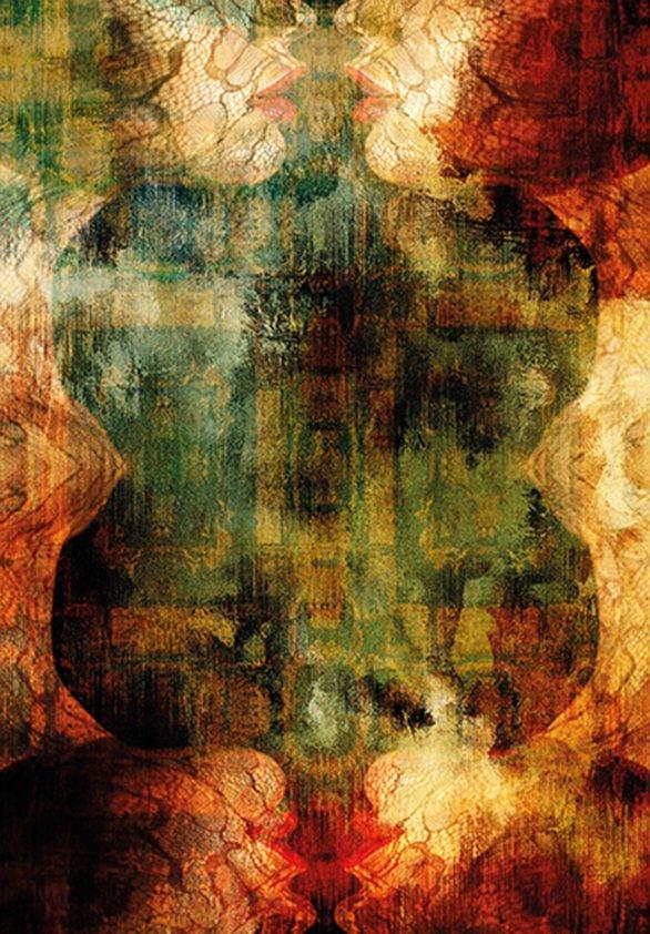 Design Tapijt Abstract Autumn