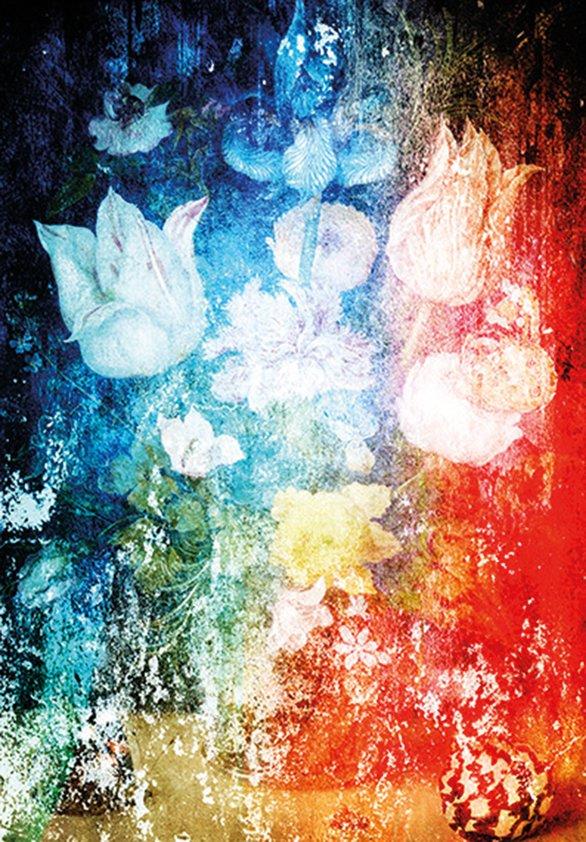 Design Tapijt Bouquet in Color