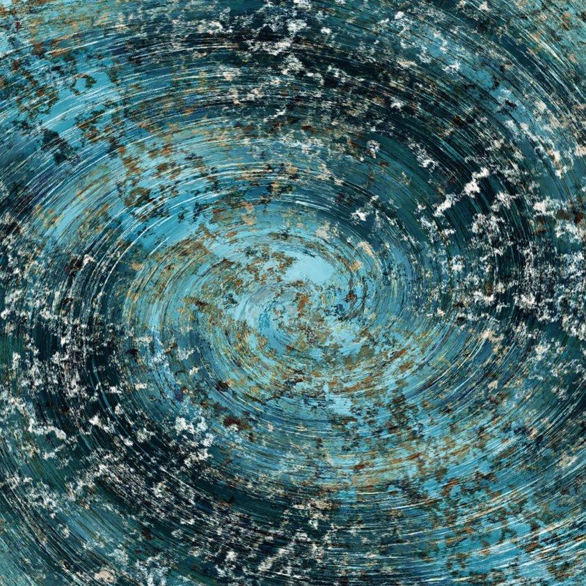 Design Tapijt mysterious blue Sky