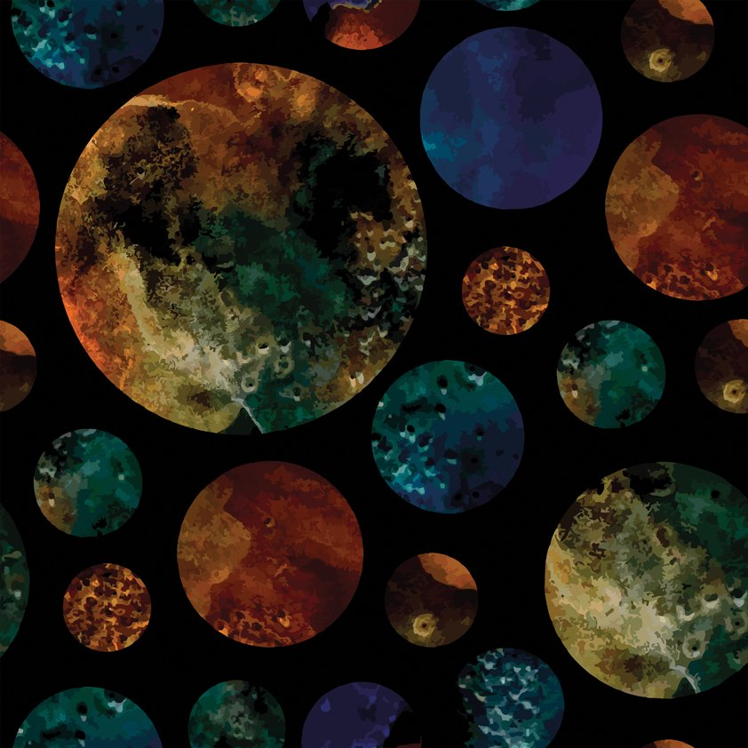 Design Tapijt Circels in the Universe