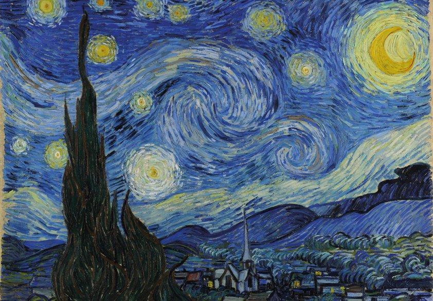 Design Tapijt The Night van Gogh