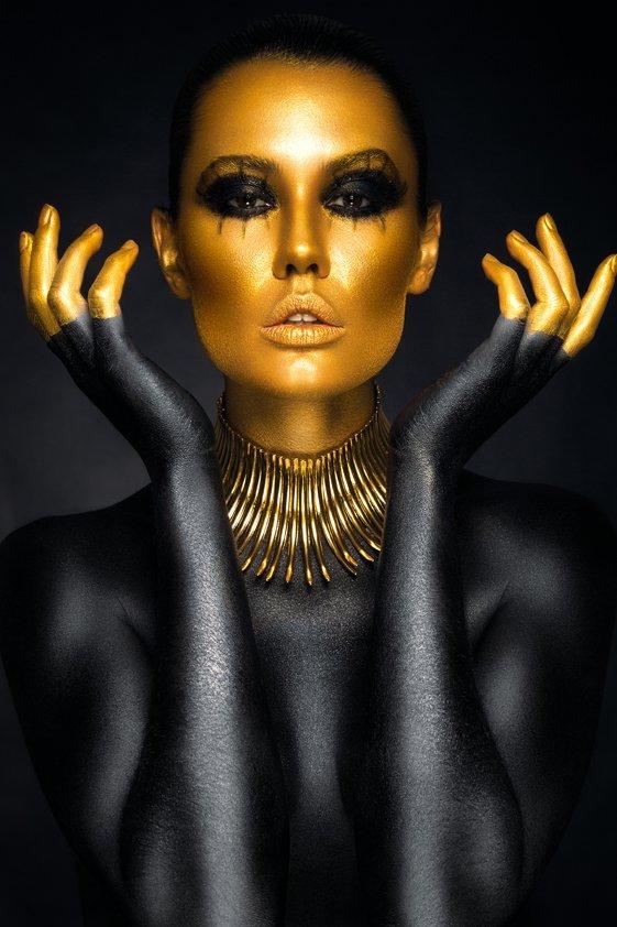 Design Tapijt Beautiful woman portrait