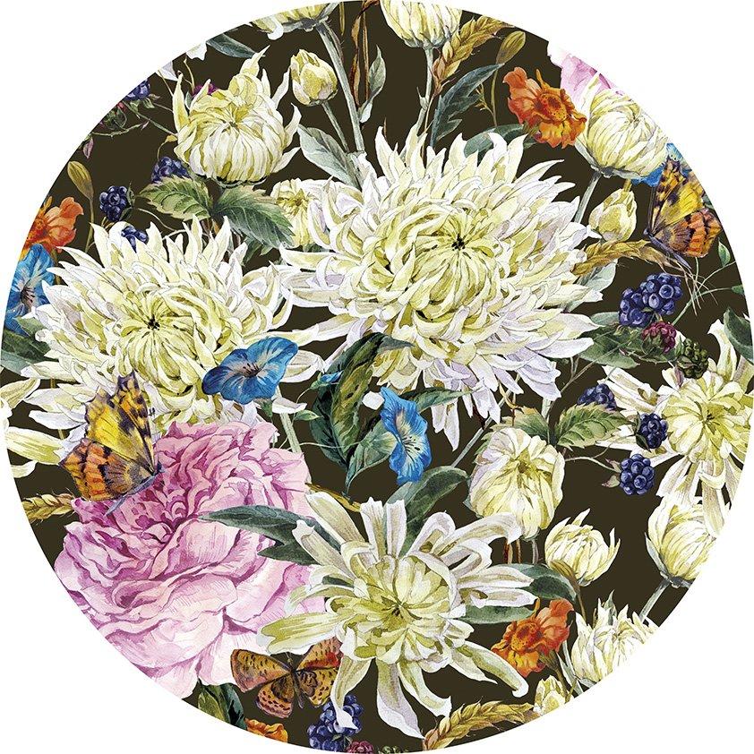 Design Tapijt Flowers in Picture