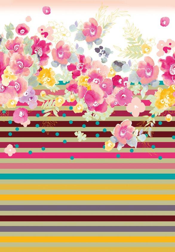 Design Tapijt Flowers in Detail