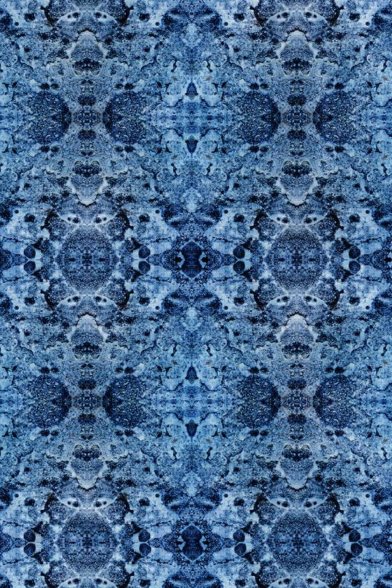 Design Tapijt Special Blue Pattern