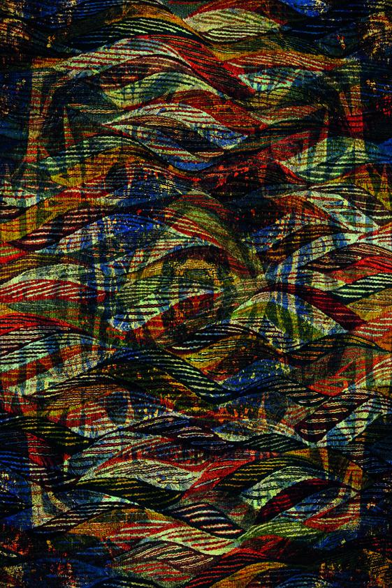 Design Tapijt Abstract Mysterious Logo