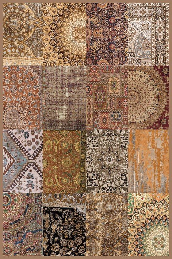 Design Tapijt Pinos Cotton