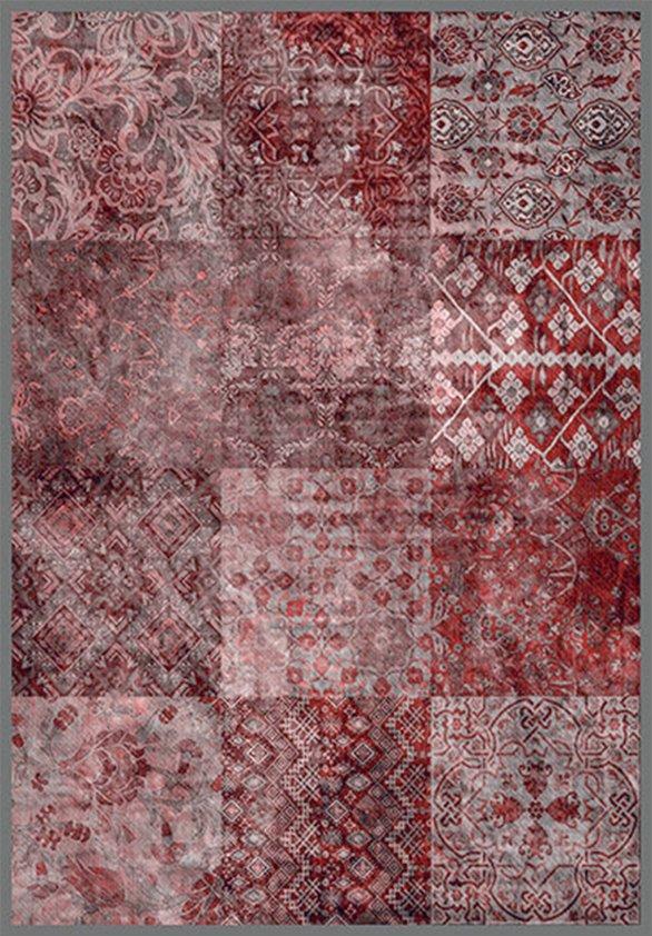Design tapijt Violet Squares
