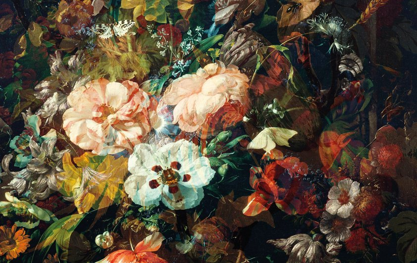 Design Tapijt Modern Bouquet
