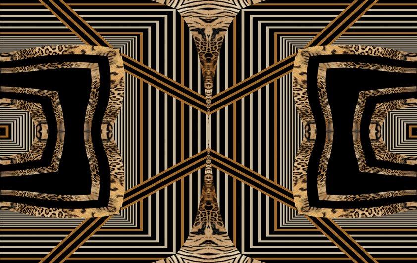 Design Tapijt Golden Picture