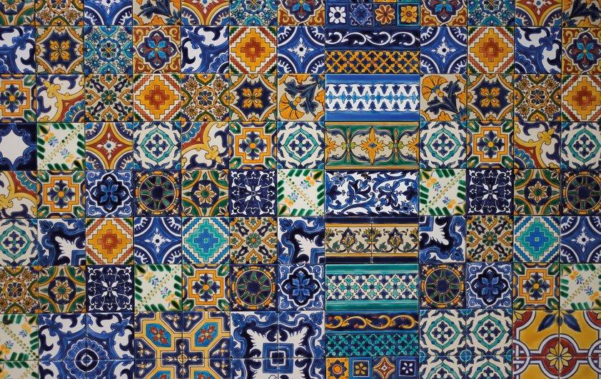 Design Tapijt Pictures in Squares